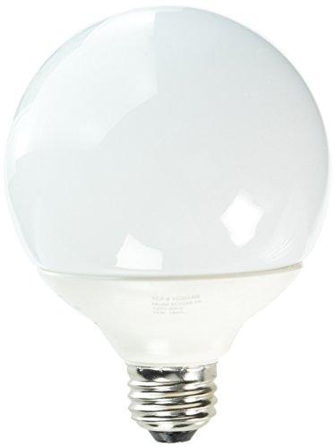 G40 Compact Fluorescent Light Bulb - TCP 1G3014IB CFL InstaBright G30 - 60 Watt Equivalent (14W) Soft White (2700K) Decorative Globe Light Bulb