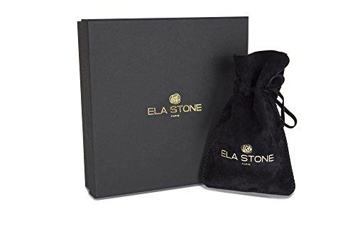 Ela Stone - Bracelet - Laiton - Hématite - 17.0 cm - ana 5