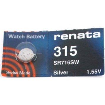 1-x-Renata-Batterien-erhltlich-in-allen-Gren-Quecksilber-Silberoxid-Uhrenbatterien