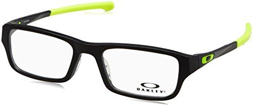 Oakley Chamfer OX8039-0649 Satin Black Retina Burn Rectangle Eyeglasses - Eyeglasses Oakley Amazon