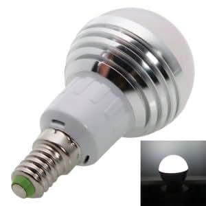 E14 3W 240-270LM 5700-6500K White LED Light Bulb (85-265V)