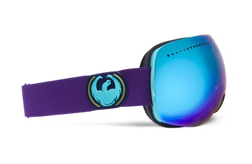 Dragon Alliance APX Crevasse Goggles (Multi, Blue Steel), Outdoor Stuffs