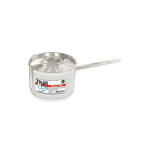 Adcraft Titan Series 2 Qt. S/S Induction Sauce Pan With Cover