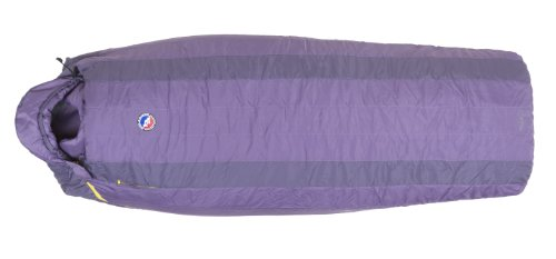 Big Agnes Lulu 15 Degree Sleeping Bag – Women's Purple / Dark Purple Petite / Left Zip