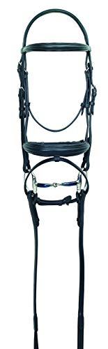 Ovation Flash Dressage Bridle Horse Black ()