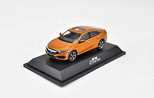 1/43 Dongfeng Honda Manufacturer Alloy Model 10th Honda Civic Touring car Race 2015