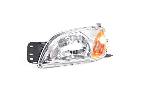 Left Passenger Side Headlamp Front Head Light (With Amber Indicator Lamp Electric + Motor):