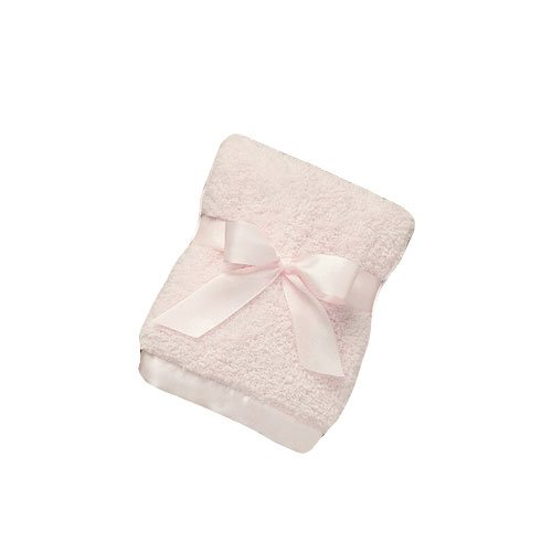 Bearington Baby Cozy Chenille, Security Blankie (Pink) 16