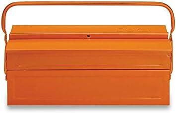 Beta C19 - Caja de herramientas (3 secciones, metal): Amazon.es: Bricolaje y herramientas