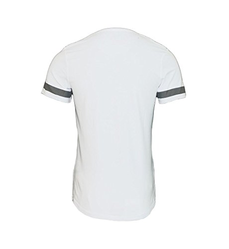 Poolman T-Shirt Shirt RH Druck P1701093 White SF17-PM1
