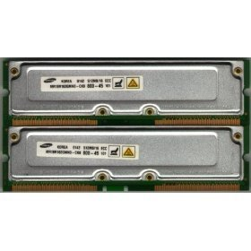 - 1GB [2x512MB] PC800-45 RDRAM RAMBUS Rimm Memory RAM Upgrade for the Dell Dimension 8100, 8200