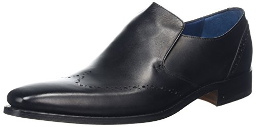 Barker Men Bourne Loafers Black (Black Calf)