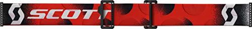 Scott Unisex-Adult Goggle (Wht/Red, one_size)