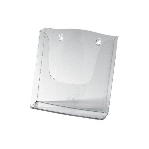 Sigel LH115 Wand-Prospekthalter acrylic, DIN A4, aus Acryl