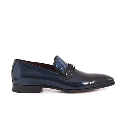 Uomini Mocassini Progettista Pantofola Elegante Scarpa In Pelle Vera Pelle In Vernice Vestito Di Fumare