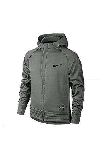 Price comparison product image Nike Boys' Elite Stripe Full-Zip Hoodie - Medium