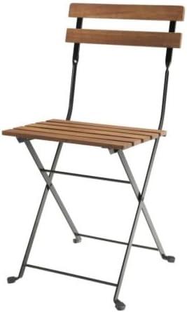 Sedie Pieghevoli Legno Ikea.Ikea Tarno Sedia Pieghevole In Legno Di Acacia Acciaio Inox