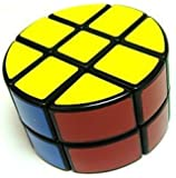Lanlan 2 x 3 x 3 Pie-shape Round Column Speed Cube Black Puzzle
