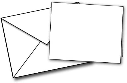 Blank White Mini Note Card product image