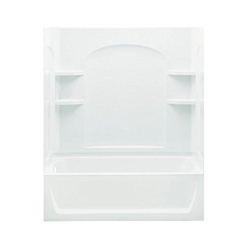 STERLING 71220118-0 Ensemble AFD Bath Tub and Shower Kit, 60-Inch x 32-Inch x 76-Inch, - Bathtub Afd