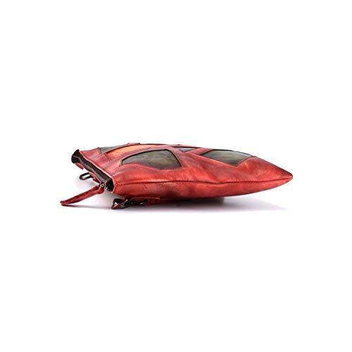 Dames La Main Sac Bandoulière à Red Chinois AJLBT Simple De Rétro Style Mode Fait Style à Sac 4zwEzq8