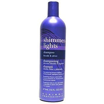 Clairol Shimmer Lights Shampoo - Blonde & Silver 473 ml by Clairol by Clairol