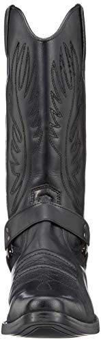 Tacco Occidentale Boots 47 Caviglia Cubano Smart Eu40 Kick Footwear Nero Lungo Cowboy Mens Tirare IqY7Rv