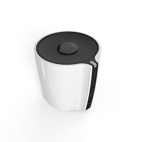 WeCool Magic Cup Wireless Bluetooth Speaker with Control MFB Compatible with All Smartphones, PC, Laptops White