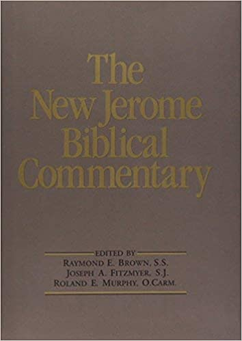 The New Jerome Biblical Commentary NEW JEROME BIBLICAL