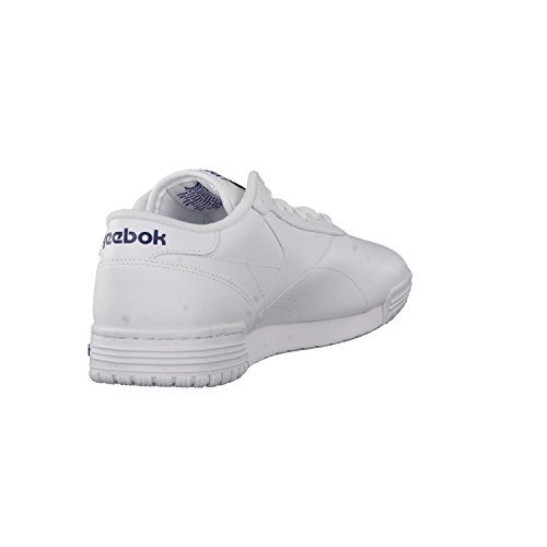 Reebok Exofit Lo Clean Logo, Zapatillas para Hombre int-white-royal blue-royal blue