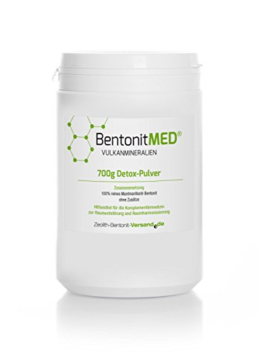 Bentonite Med Detox Powder 700g