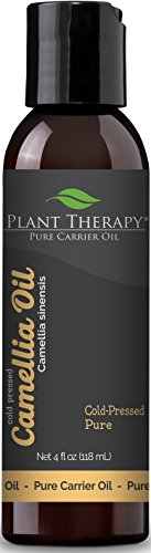 Plant Therapy Camellia Seed Carrier Oil. A Base Oil for Aromatherapy, Essential Oil or Massage use. 4 oz.