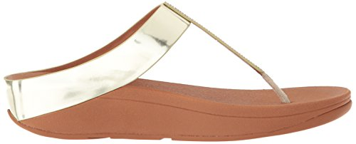 Fino Fitflop Post Sandals Womens Gold Toe pwdwTqS