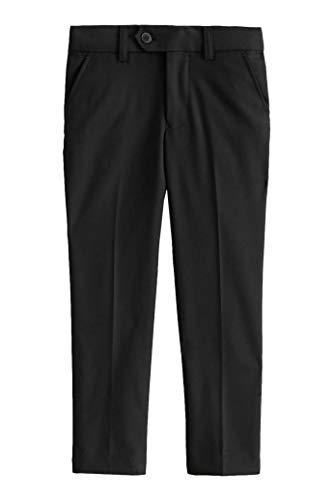 Chasing Fireflies Boys Tailored Dress Pants Black ()