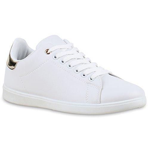 7247a16710cc18 Damen Sneakers Velours Metallic Sneaker Low Sportschuhe Schnürer Turnschuhe  Animal Prints Lack Leder-Optik Schuhe