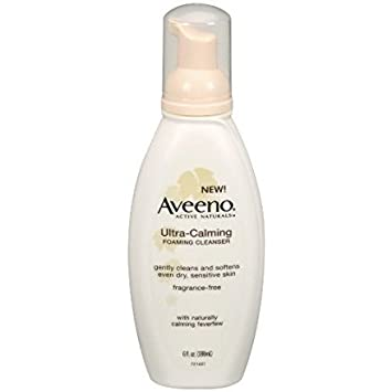 Ultra Calming Foaming Facial Cleanser by Aveeno #10