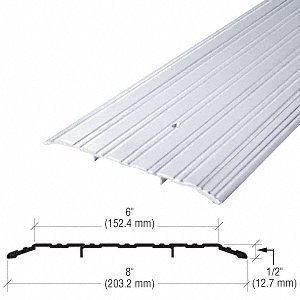 8'' Aluminum Commercial Saddle Threshold - 73'' Length