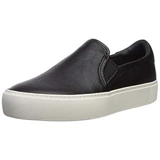 UGG Women's Jass Sneaker, Black, 6