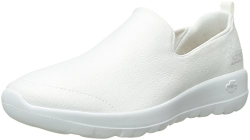 Skechers Performance Women's Go Walk Joy-15612 Sneaker, white, 8 M ()