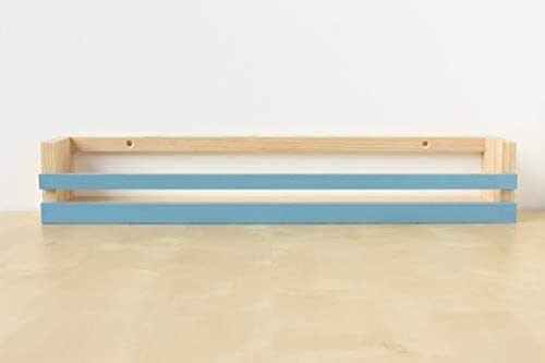 Estantería para libros infantiles   Expositor   Chalk Paint color azul - madera maciza