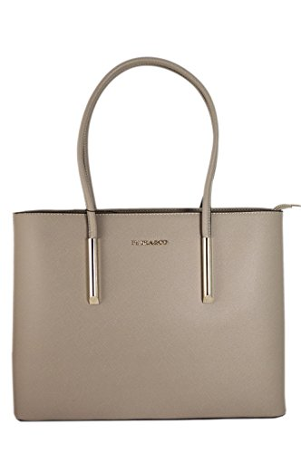 Girls' by Nanucci Carry Striated Rigid Sac Shoulder School Shape Faux amp; Mousey Co Flora A4 Bag grey or Leather Hand EfXwxqtA