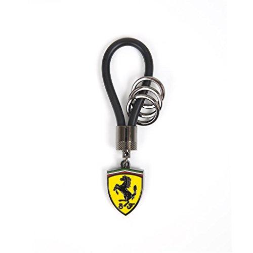 Scuderia Ferrari Formula 1 Black Rubber Strap Key Chain