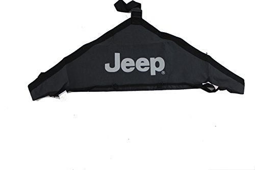 Jeep Genuine Accessories 82210316 Black T-Style Hood Cover
