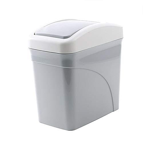 Mini Desktops Garbage Bin, Vinjeely Creative Cute Covered Li