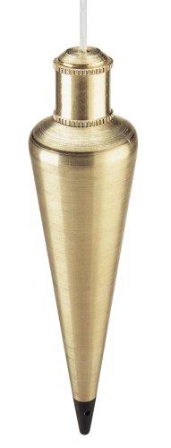 Empire Level 924BR Brass Plumb Bob, 24 Ounces