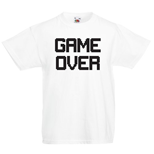 funny-t-shirts-for-kids-game-over-vintage-t-shirts-funny-gamer-gifts-gamer-shirt-5-6-years-white-bla