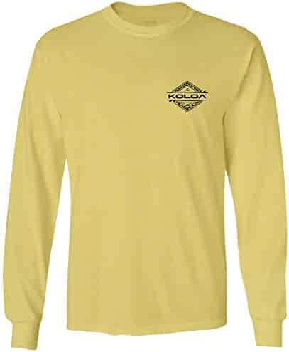 40f343955 Koloa Surf Mens Diamond Thruster Logo Long Sleeve T-Shirts - Regular, Big &