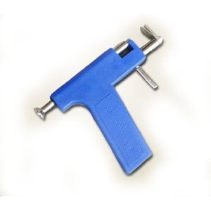 Blue Ear Piercing Gun and 12 Pairs Ear Pin by hotthings4sell (Image #2)