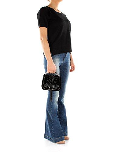 Bolsos Negro Mano Velvet De Miu Mujer 5bd033vellutosoftca OqxwAOan10