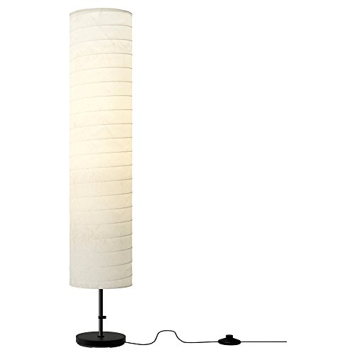 Ikea 301 841 73 Holmo 46 Inch Floor Lamp (Large Image)